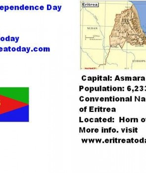 Happy Independence Day Eritrea