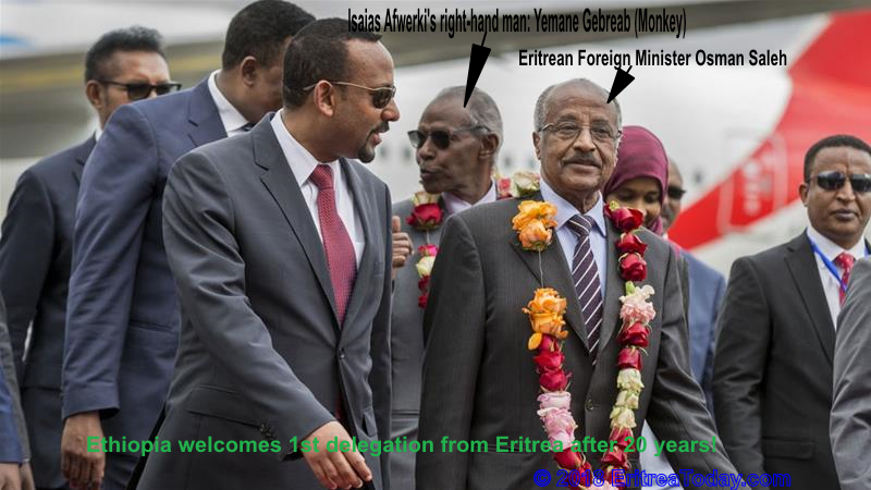 Ethiopia welcomes 1st delegation from Eritrea in 20 years